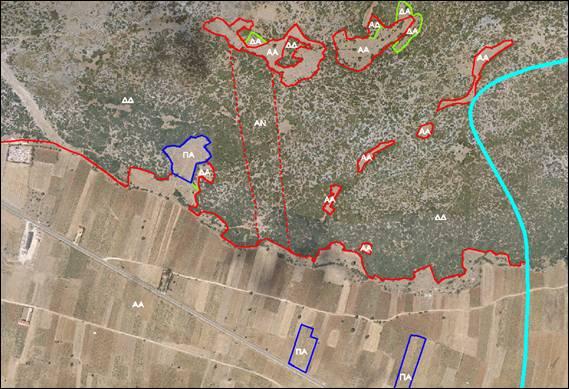Αναρτήθηκαν οι δασικοί χάρτες Χαλκιδικής